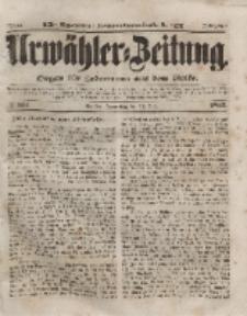 Urwähler-Zeitung : Organ für Jedermann aus dem Volke, Donnerstag, 15. Juli 1852, Nr. 163.