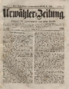 Urwähler-Zeitung : Organ für Jedermann aus dem Volke, Freitag, 16. Juli 1852, Nr. 164.