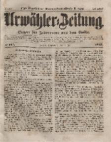 Urwähler-Zeitung : Organ für Jedermann aus dem Volke, Sonnabend, 17. Juli 1852, Nr. 165.