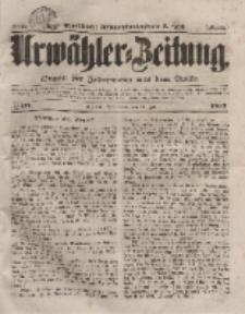 Urwähler-Zeitung : Organ für Jedermann aus dem Volke, Sonnabend, 24. Juli 1852, Nr. 171.