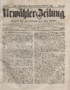 Urwähler-Zeitung : Organ für Jedermann aus dem Volke, Mittwoch, 28. Juli 1852, Nr. 174.