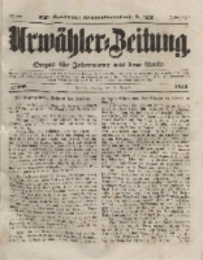 Urwähler-Zeitung : Organ für Jedermann aus dem Volke, Freitag, 13. August 1852, Nr. 188.