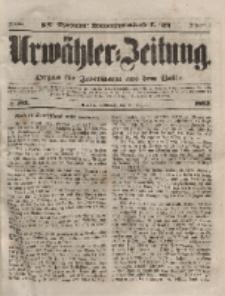 Urwähler-Zeitung : Organ für Jedermann aus dem Volke, Mittwoch, 18. August 1852, Nr. 192.