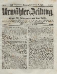 Urwähler-Zeitung : Organ für Jedermann aus dem Volke, Sonnabend, 28. August 1852, Nr. 201.