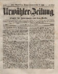 Urwähler-Zeitung : Organ für Jedermann aus dem Volke, Mittwoch, 1. September 1852, Nr. 204.