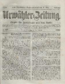 Urwähler-Zeitung : Organ für Jedermann aus dem Volke, Donnerstag, 16. September 1852, Nr. 217.