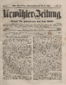Urwähler-Zeitung : Organ für Jedermann aus dem Volke, Mittwoch, 22. September 1852, Nr. 222.