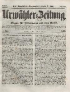 Urwähler-Zeitung : Organ für Jedermann aus dem Volke, Mittwoch, 13. Oktober 1852, Nr. 240.