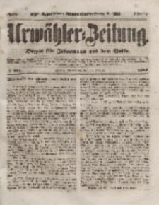 Urwähler-Zeitung : Organ für Jedermann aus dem Volke, Sonnabend, 30. Oktober 1852, Nr. 255.