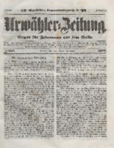 Urwähler-Zeitung : Organ für Jedermann aus dem Volke, Mittwoch, 3. November 1852, Nr. 258.