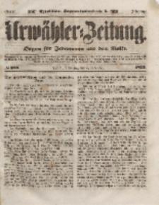 Urwähler-Zeitung : Organ für Jedermann aus dem Volke, Donnerstag, 4. November 1852, Nr. 259.