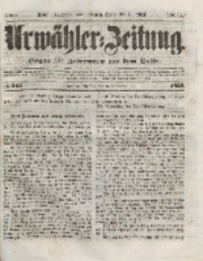 Urwähler-Zeitung : Organ für Jedermann aus dem Volke, Dienstag, 9. November 1852, Nr. 263.