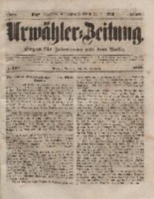 Urwähler-Zeitung : Organ für Jedermann aus dem Volke, Mittwoch, 10. November 1852, Nr. 264.