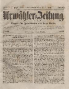 Urwähler-Zeitung : Organ für Jedermann aus dem Volke, Freitag, 12. November 1852, Nr. 266.
