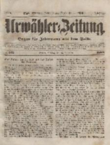 Urwähler-Zeitung : Organ für Jedermann aus dem Volke, Dienstag, 23. November 1852, Nr. 275.