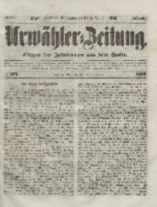 Urwähler-Zeitung : Organ für Jedermann aus dem Volke, Mittwoch, 24. November 1852, Nr. 276.
