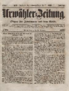 Urwähler-Zeitung : Organ für Jedermann aus dem Volke, Sonntag, 28. November 1852, Nr. 280.
