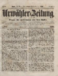 Urwähler-Zeitung : Organ für Jedermann aus dem Volke, Dienstag, 30. November 1852, Nr. 281.