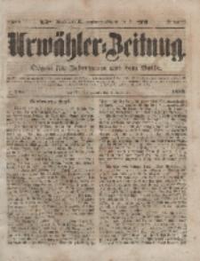 Urwähler-Zeitung : Organ für Jedermann aus dem Volke, Sonnabend, 4. Dezember 1852, Nr. 285.