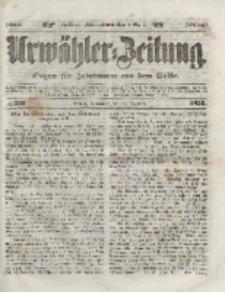Urwähler-Zeitung : Organ für Jedermann aus dem Volke, Sonnabend, 18. Dezember 1852, Nr. 297.