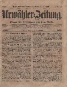 Urwähler-Zeitung : Organ für Jedermann aus dem Volke, Sonntag, 19. Dezember 1852, Nr. 298.