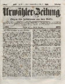 Urwähler-Zeitung : Organ für Jedermann aus dem Volke, Dienstag, 21. Dezember 1852, Nr. 299.
