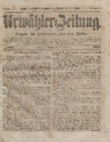 Urwähler-Zeitung : Organ für Jedermann aus dem Volke, Mittwoch, 22. Dezember 1852, Nr. 300.