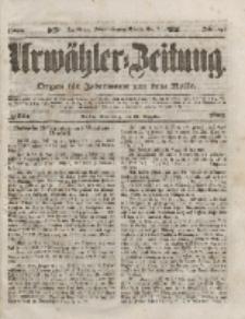 Urwähler-Zeitung : Organ für Jedermann aus dem Volke, Donnerstag, 23. Dezember 1852, Nr. 301.