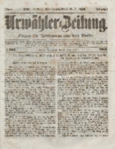 Urwähler-Zeitung : Organ für Jedermann aus dem Volke, Sonnabend, 25. Dezember 1852, Nr. 303.