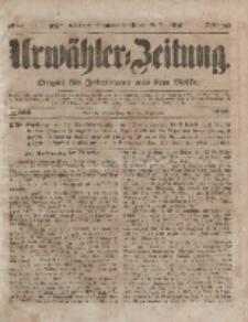 Urwähler-Zeitung : Organ für Jedermann aus dem Volke, Donnerstag, 30. Dezember 1852, Nr. 306.