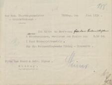 Urząd Gruntowy w Elblągu - Firma Max Kusch & Gebr. Ilgner Elbing - korespondencja (czerwiec 1934)