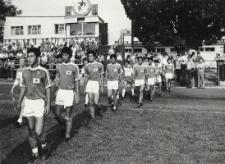 "Mecz piłkarski : Japonia - ""Olimpia"" Elbląg [fotografie]"