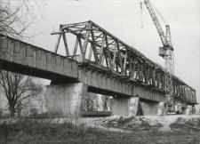Budowa obwodnicy kolejowej w Elblągu [fotografie]