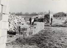 Zakłady Mleczarskie w Pasłęku (początek budowy) [fotografie]