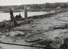 Krynica Morska (modernizacja portu pasażerskiego) [fotografie]