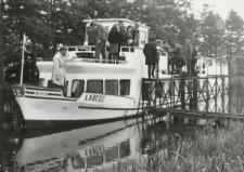 """Statek pasażerski """"Łabędź"""" [fotografia]"""