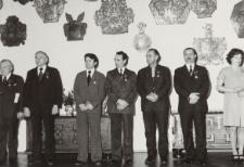 Odznaczenia w Muzeum Elbląskim (Krzyże Zasługi) [fotografie]