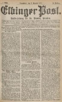 Elbinger Post, Nr.230 Sonnabend 2 October 1875, 2 Jh
