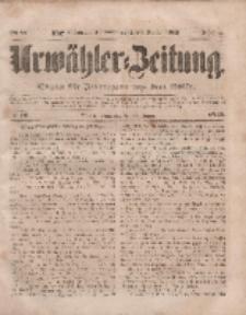 Urwähler-Zeitung : Organ für Jedermann aus dem Volke, Donnerstag, 20. Januar 1853, Nr. 16.