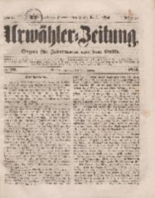 Urwähler-Zeitung : Organ für Jedermann aus dem Volke, Dienstag, 25. Januar 1853, Nr. 20.