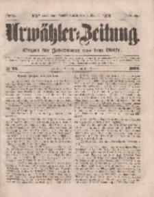Urwähler-Zeitung : Organ für Jedermann aus dem Volke, Sonnabend, 29. Januar 1853, Nr. 24.