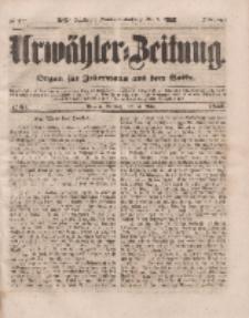 Urwähler-Zeitung : Organ für Jedermann aus dem Volke, Sonntag, 13. März 1853, Nr. 61.
