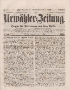 Urwähler-Zeitung : Organ für Jedermann aus dem Volke, Donnerstag, 17. März 1853, Nr. 64.