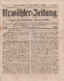 Urwähler-Zeitung : Organ für Jedermann aus dem Volke, Sonntag, 20. März 1853, Nr. 67.