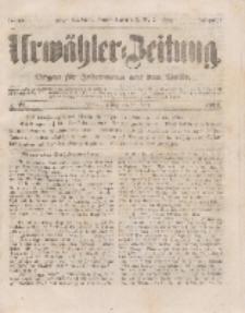 Urwähler-Zeitung : Organ für Jedermann aus dem Volke, Freitag, 25. März 1853, Nr. 71.