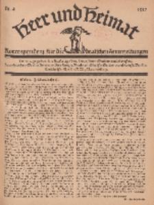 Heer und Heimat : Korrespondenz für die deutschen Armeezeitungen, 1917, Nr 4.