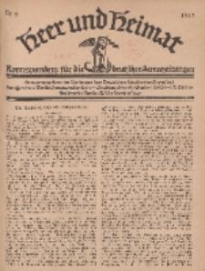 Heer und Heimat : Korrespondenz für die deutschen Armeezeitungen, 1917, Nr 9.