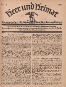 Heer und Heimat : Korrespondenz für die deutschen Armeezeitungen, 1917, Nr 14.