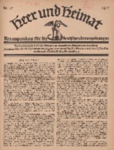 Heer und Heimat : Korrespondenz für die deutschen Armeezeitungen, 1917, Nr 17.