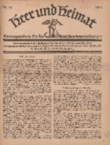 Heer und Heimat : Korrespondenz für die deutschen Armeezeitungen, 1917, Nr 18.